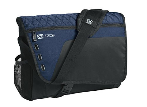 "Ogio Vault 16"" Computer Laptop Messenger Bag, Navy"