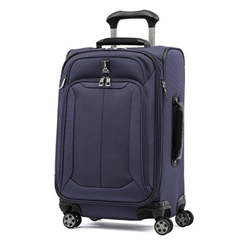 "Travelpro Skypro Lite 21"" Expandable 8-Wheel Luggage Spinner (Navy)"