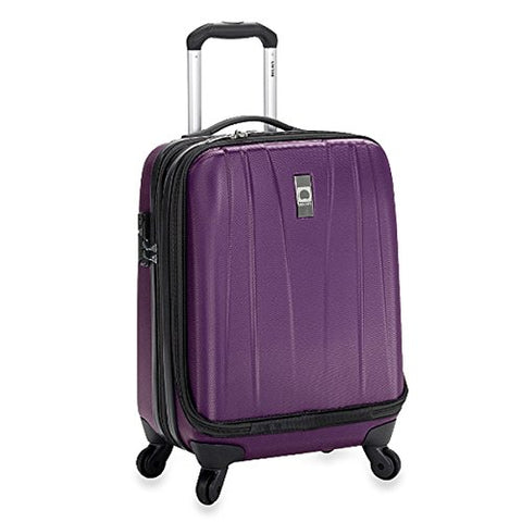 The Classic Purple Helium Shadow 19-Inch Hardside International Carry On Luggage