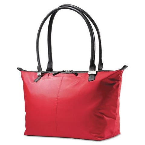 Samsonite - Jordyn Ladies Laptop Bag, 21 1/4 x 7 1/2 x 12, Nylon Red 49460-1761 (DMi EA