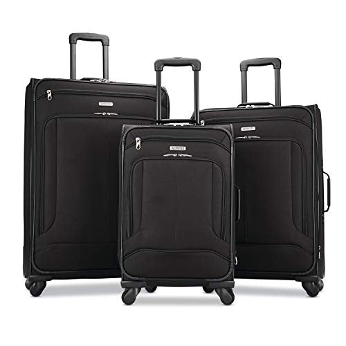 American Tourister Pop Max 3-Piece Softside (Sp21/25/29) Luggage Set With Multi-Directional Spinner
