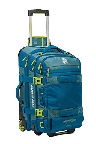 "Granite Gear Cross-Trek 22"" Wheeled Carry-On Duffel - Bleumine/Blue Frost/Neolime"