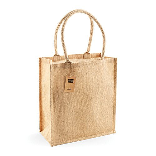 Westford Mill Jute Boutique Shopper - Natural