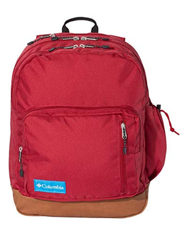 Monogrammed or Chose to not Monogram Columbia Sportswear Northern Pass Day Pack (Red)