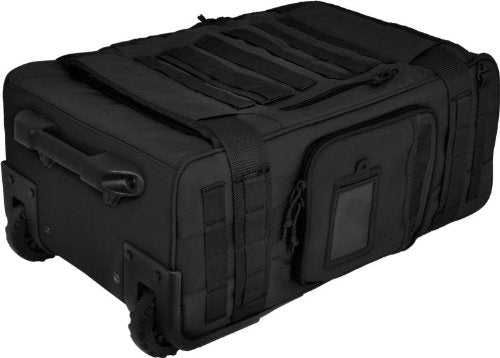 HAZARD 4 Air Support Rugged Rolling Carry-On, Black