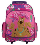 "Scooby Doo Peace & Love Large 15"" Rolling Backpack [Apparel]"