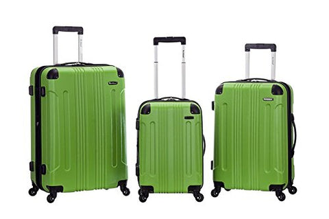 Rockland F190-Green Upright Luggage44; 3 Pieces