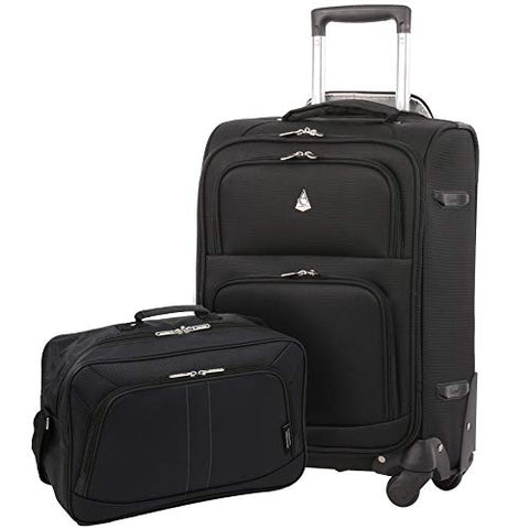 Large Capacity Maximum Allowance 22x14x9 Luggage Carry On Travel Suitcase Spinner Rolling Cabin Wheeled Bag Set