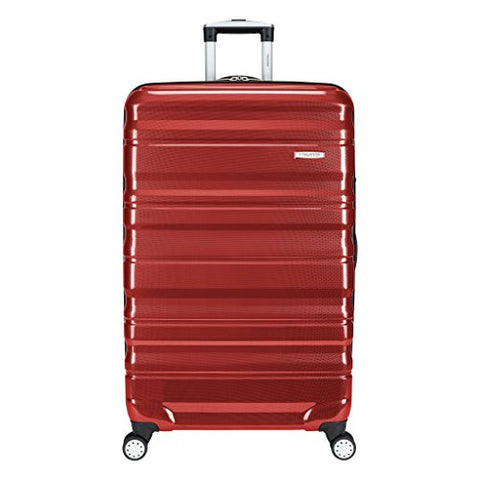 "Ricardo Beverly Hills Luggage Serramonte 30"" Spinner Upright Suitcase, True Red"