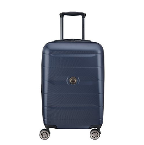 Delsey Luggage Comete 2.0 Expanable Spinner Carry-on, Anthracite