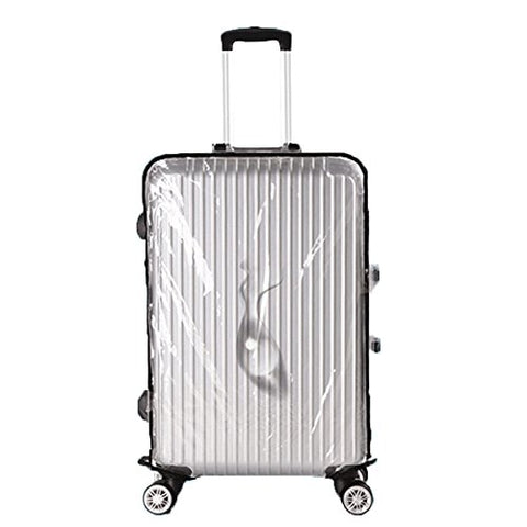 "Clear Pvc Travel Luggage Protector Suitcase Covers 20""22""24""26""28""30'' (30''(53Cm L X 34Cmw X75Cm"