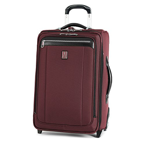 Travelpro Platinum Magna 2 Carry-On Expandable Rollaboard Suiter Suitcase, 22-in., Marsala Red