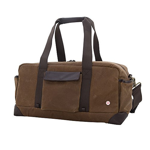 Token Bags Waxed Northern Duffel, Field Tan, One Size