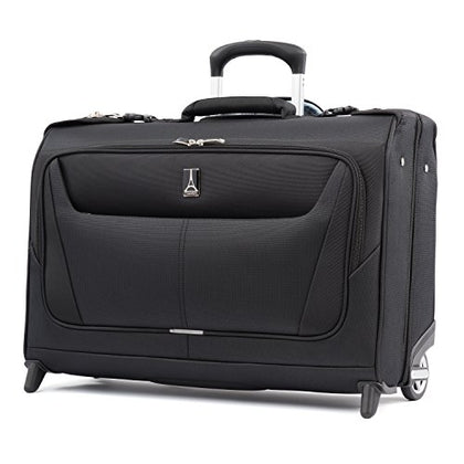 "Travelpro Luggage Maxlite 5 22"" Lightweight Carry-on Rolling Garment Bag, Suitcase, Black"