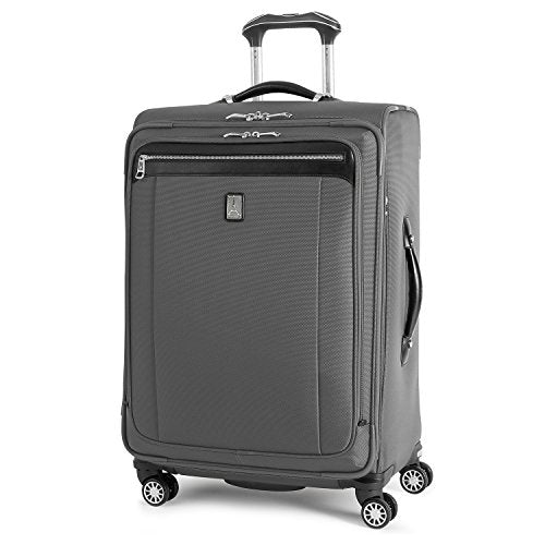 Travelpro Platinum Magna 2 Expandable Spinner Suiter Suitcase, 25-In, Charcoal Grey