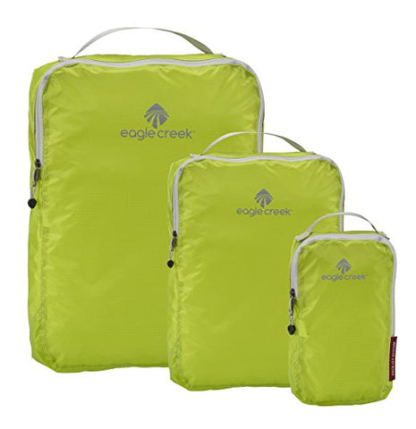 Eagle Creek Travel Gear Luggage Pack-it Specter Cube Set, Strobe Green