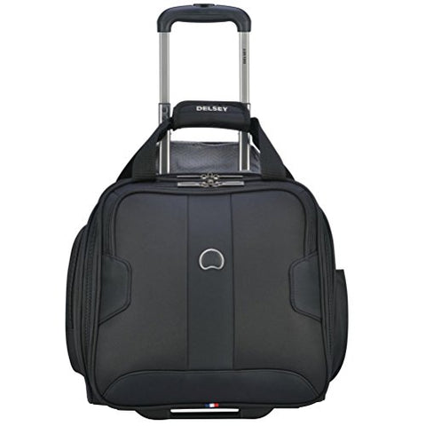 Delsey Luggage Sky Max 2 Wheeled Underseater, Black