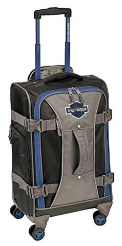 "Harley-Davidson 22"" Independence Pass Carry-On Luggage 99122-BLUE/BLACK"