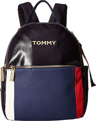 Tommy Hilfiger Women's Akela Backpack Navy/Multi One Size