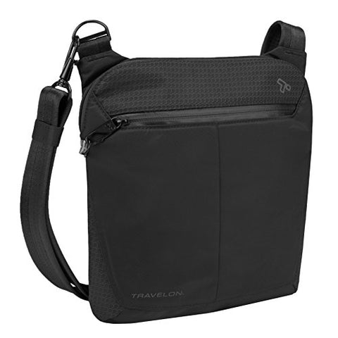 Travelon Anti-Theft Active Small Crossbody, Black