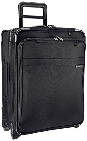 "Briggs & Riley Baseline International Carry-On Wide Body 21"" Upright, Black, Medium"