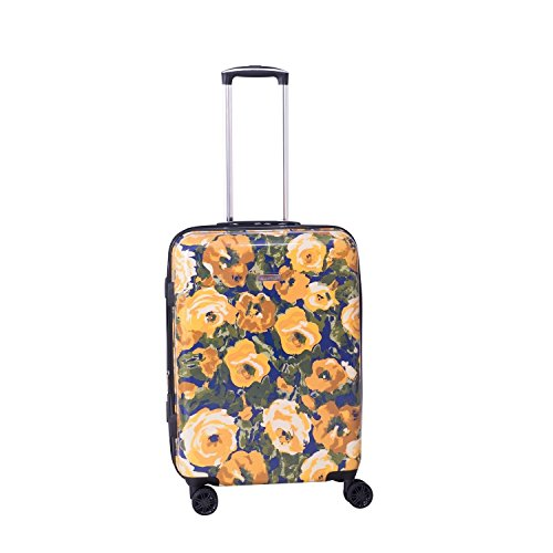 Isaac Mizrahi Inez 22-Inch 8-Wheel Hardside Spinner (Yellow)