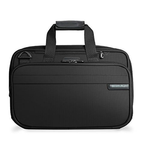 Briggs & Riley Baseline Expandable Cabin Bag, Black, Medium