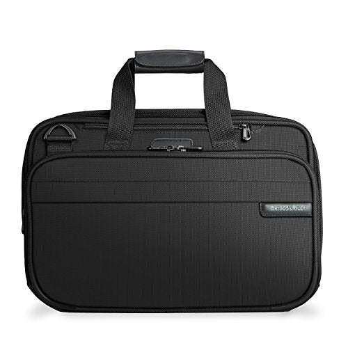 Briggs & Riley Baseline-Expandable Cabin Bag, Black, One Size