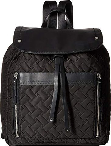 Cole Haan Women's Quilted Nylon Backpack Black One Size