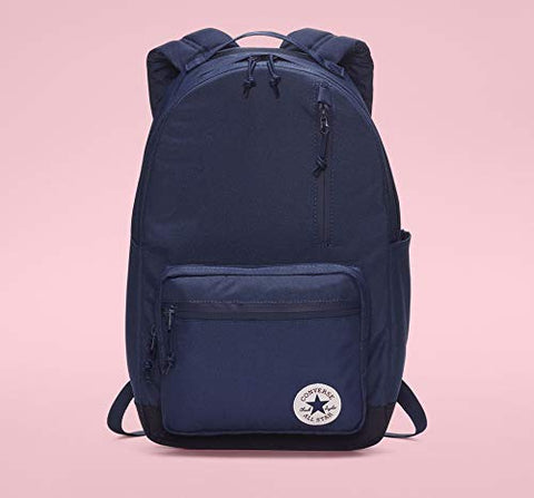 Converse Unisex Go Backpack, Navy/Obsidian One Size