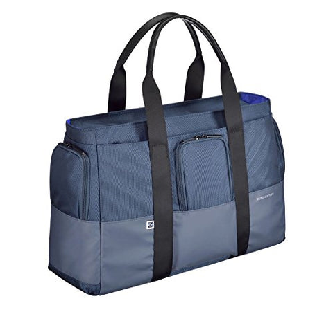 Zero Halliburton Gramercy-Large Tote Bag Shoulder, Navy One Size