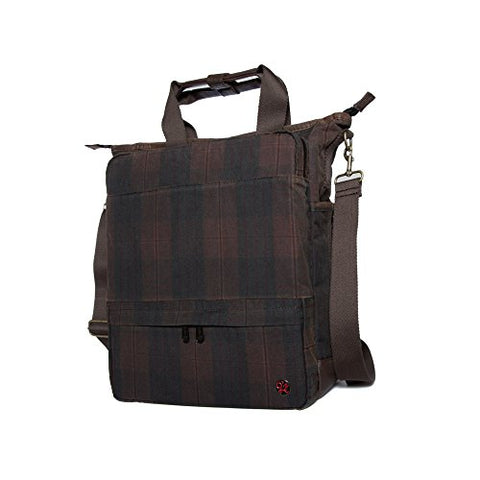 Token Bags Waxed Fordham Convertible Bag, Plaid, One Size