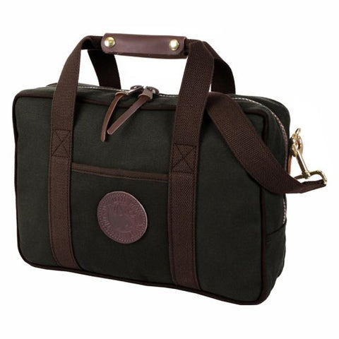Duluth Pack Safari Portfolio Briefcase, Black, 11 x 16 x 4-Inch