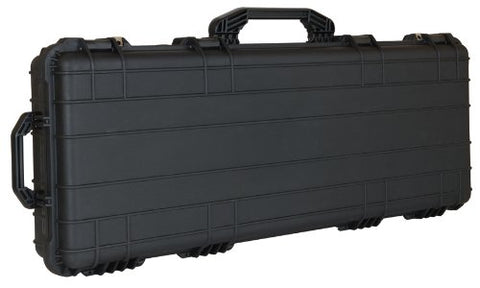 T.Z. Case International Cb043 B 44 5/8 X 16 5/8 X 6 1/8-Inch Molded Utility Case With Wheels, Black