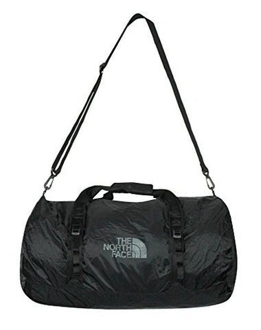 The North Face Unisex Basic Zip FLYWEIGHT DUFFEL L (Tnf Black)