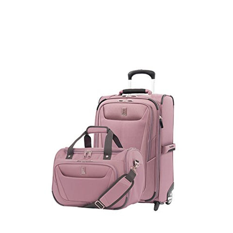 Travelpro Luggage Maxlite 5 | 2-Piece Set | Soft Tote And 22-Inch Rollaboard (Dusty Rose)