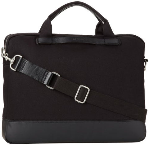 Ben Sherman Men's Twill Flight Bag, Black, One Size