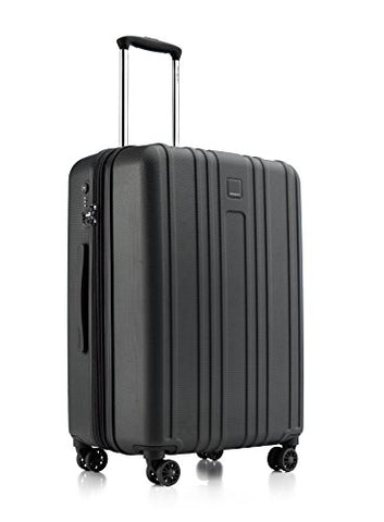 "Hedgren Gate Mex-24"" Hardside Luggage, Black"