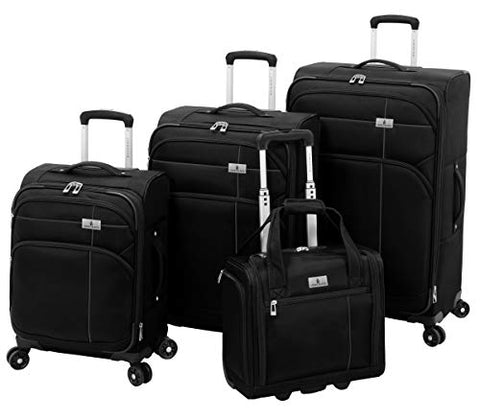 London Fog Cranford 4 Piece Set, Black