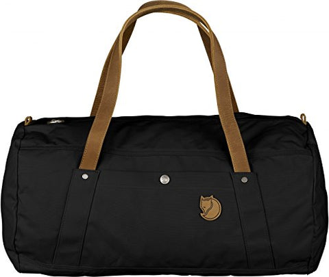 Fjallraven - Unisex Duffel No.4 Bag, Size: O/S, Color: Black