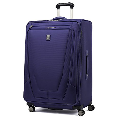 "Travelpro Luggage Crew 11 29"" Expandable Spinner Suitcase With Suiter, Indigo"