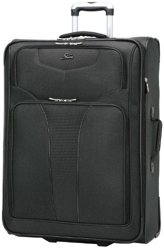 Skyway Luggage Sigma 4 28-Inch 2 Wheel Expandable Upright, Black, One Size