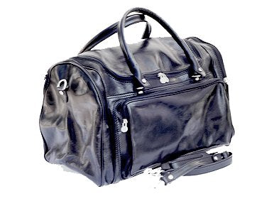 Timmari Italian Leather Duffel Bag -Willow Collection