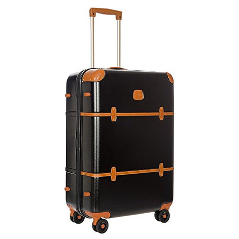 Bric's Luggage Bellagio Ultra Light 27 Inch Spinner Trunk (Black/Tobacco)
