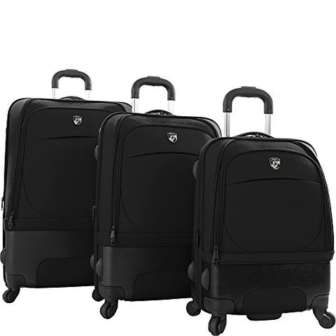 Heys Spin-Air Ii 3 Piece Set, Black