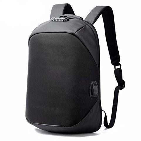 BOPAI Waterproof USB Charge Port Backpack Anti Theft Backpack