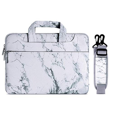 MOSISO Laptop Shoulder Bag Compatible 15-15.6 Inch MacBook Pro/Dell HP Acer