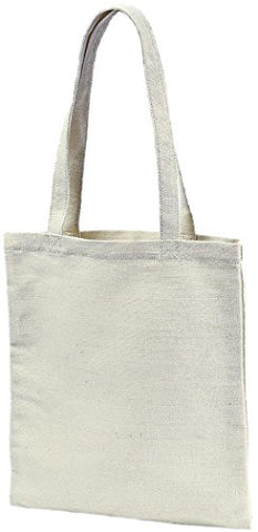 ZUZIFY Simple Hemp Tote Bag. FV1097 OS Natural
