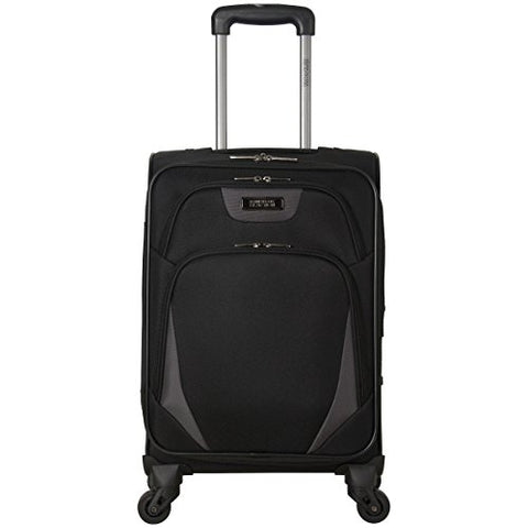 "Kenneth Cole Reaction Going Places 20"" 600d Polyester Expandable 4-Wheel Spinner Carry-on"