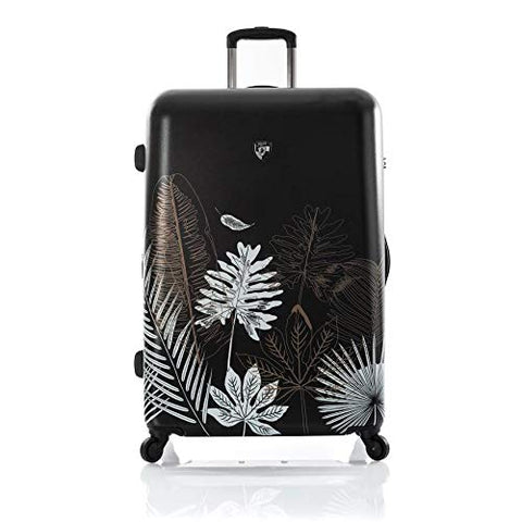 "Heys Oasis Black Gold Leaf 30"" Fashion Spinner"